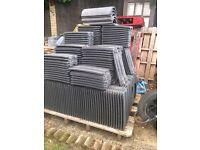 328 NEW Redland 49 roof tiles + 5 ridges