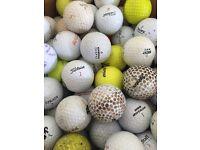 100 Golf Balls - A/B/C grade condition