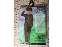 Army Officer Costume - brand new