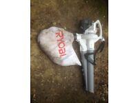 for sale ryobi leaf blower mulching vac