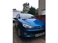 P206 2006 motd alloys good condition for year many new parts fitted