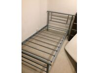 bed frame single good condtion URGENT GREENFORD