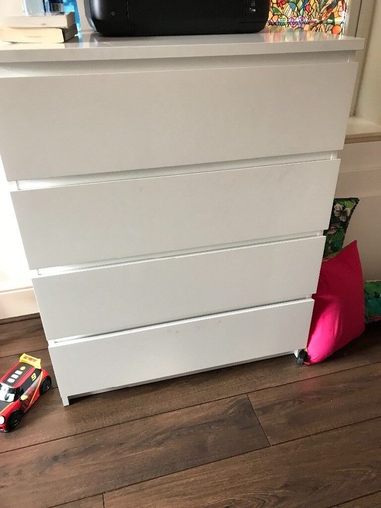 Ikea Chest of 4 drawer- Good as new!