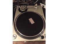 TECHNICS 1200 MK2 - PERFECT WORKING CONDITION + DUST COVER/LID