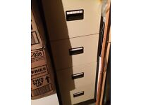 4 drawer filing cabinet in good condition. All drawers lock on single key which is present.