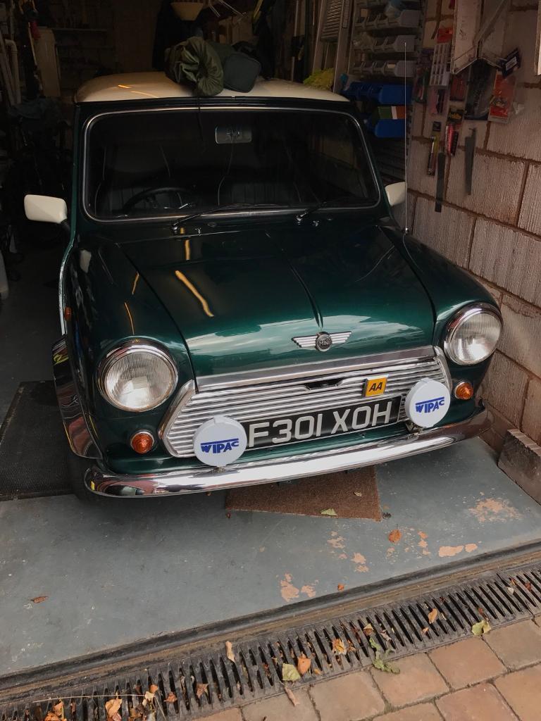 1998 Mini Mayfair- British Racing Geeen