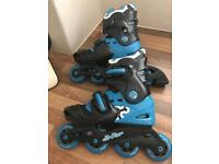 NO FEAR ROLLER BLADES SIZE 1-4