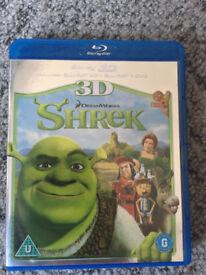 Shrek 3D Bluray