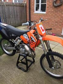 KTM 125 SX 2003 ROAD REGISTERED
