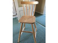 Ikea Children's Chair suitable from age 3-8 approx