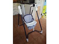 Graco 3-speed baby swing and rocker