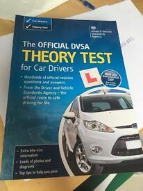 Official DVSA theory test for car drivers hand book