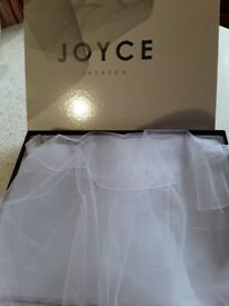 White 72ins Joyce Jackson Wedding veil