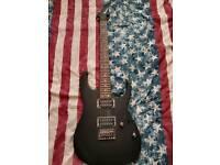 Ibanez RG421 Guitar & Line 6 Spider IV Amp