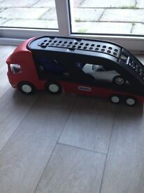 Little Tikes Car Transporter with 2 cars