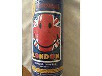 Smiley London Union Jack Rug