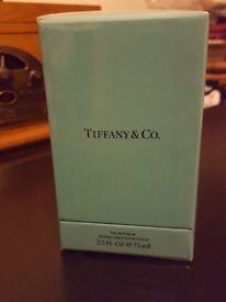 New Tiffany and Co. Eau de perfume 75ml unwanted gift