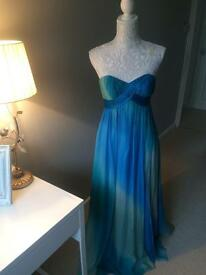 Stunning MONSOON Floor-length Strapless Dress