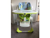 2 in 1 Chicco Polly Highchair