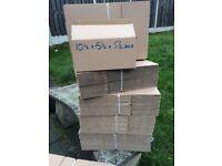 Cardboard boxes 10x6x6