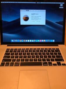 "2013 15"" MACBOOK PRO RETINA NVIDIA GPU W/FREE SOFTWARE OVER $6000(OFFICE,ADOBE,FINALCUT PROX, LOGIC PRO X)ONLY $1099 OBO"