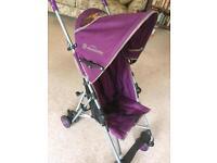 Purple lightweight buggy