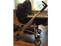 Travel System incl. Pushchair, Carry Cot, Car Seat and BebeComfort sleeping bag