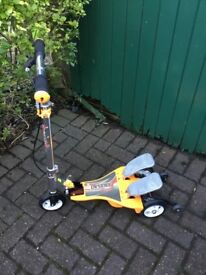 Child's pedal scooter