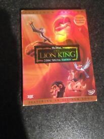 The Lion King Walt Disney DVD
