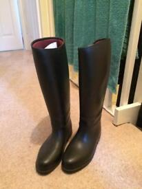 Brand new horse riding boots - size 5