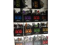 The Walking Dead books (hardcover) vol. 1-14
