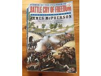 Battle Cry of Freedom: The Civil War Era (by James McPherson) ISBN 0-19-516895-X