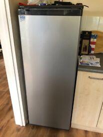 Beko fridge - tall grey
