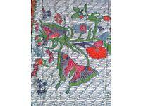 Beautiful Batik Style Cotton Fabric