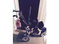 Baggy pram used but good condition