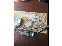 Nintendo wii cables and sensor