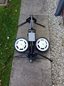 Golf trolley ,great CONDITION,all straps working ,detachable wheels