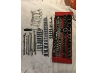 Joblot not snap on high quality sockets ratchet impacts extensions metric set