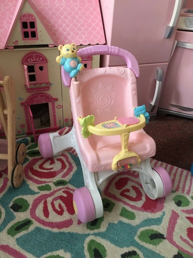 URGENT SALE Fisher Price Musical Doll's Pushchair / Walker NW6
