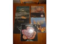 Selection of 7 vinyl records from Supertramp