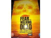 Fear the walking dead season 2 on dvd, complete boxset
