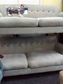 Grey sofology 3&2 sofa set