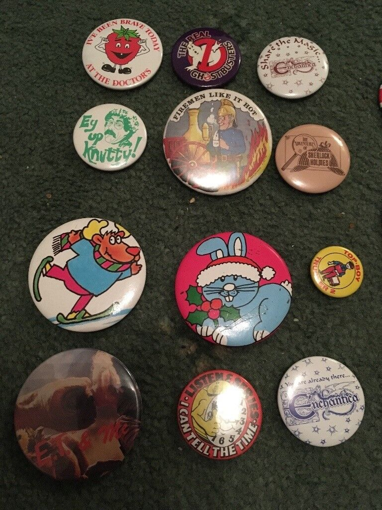 Badge collection 1980-1990's