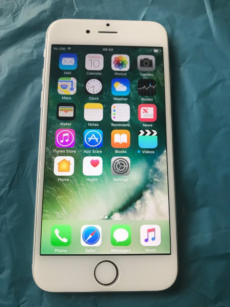 Apple iPhone 6 (16GB) Mobile Phone, Fully Working, White