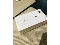 Iphone 8 plus silver 64gb on o2