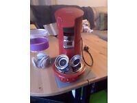 Philips Senseo HD7825/80 Coffee Machine - Red