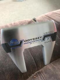 Odyssey works versa 7 tank putter sold