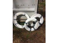 Underfloor heating pipe - 3 coils