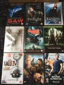 9 used dvds