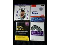 Java & PHP books